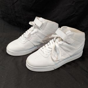 Fila Vulc White Hightop Sneakers Men's 9